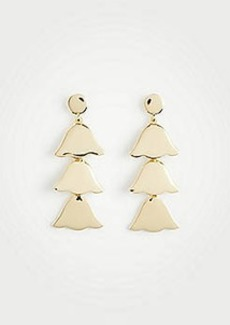 Ann Taylor Triple Leaf Earrings