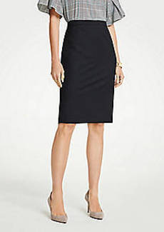 Ann Taylor Pencil Skirt in Tropical Wool