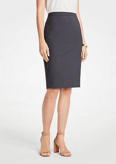 Ann Taylor Tropical Wool Pencil Skirt