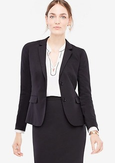 Ann Taylor Tropical Wool Two Button Jacket