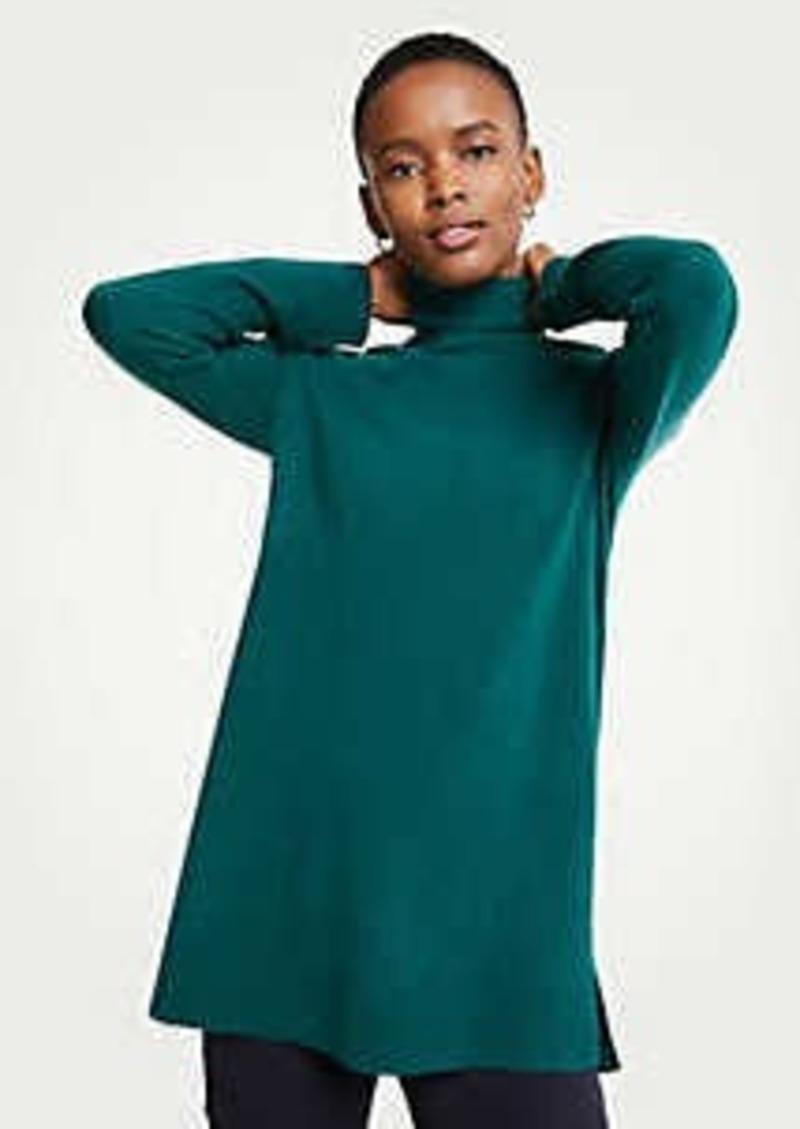 Ann Taylor Turtleneck Tunic Sweater