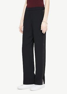 Ann Taylor Tux-Stripe Track Pants