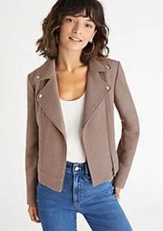Ann Taylor Tweed Moto Jacket