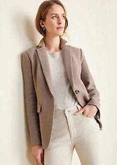 Ann Taylor The Hutton Blazer in Tweed