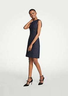 Ann Taylor Tweed Sheath Dress