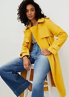 Ann Taylor Twill Trench Coat