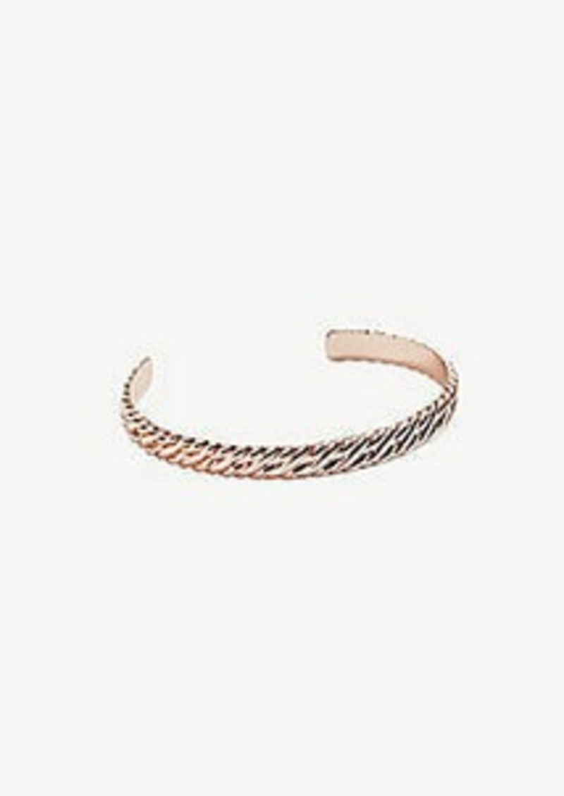 Ann Taylor Twist Cuff Bracelet