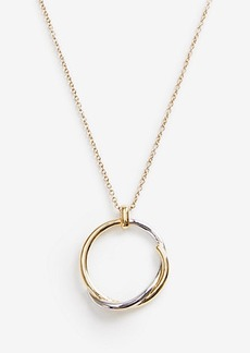 Ann Taylor Twisted Circle Pendant