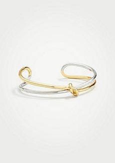 Ann Taylor Twisted Knot Bracelet