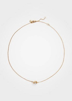 Ann Taylor Twisted Knot Necklace