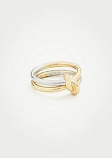 Ann Taylor Twisted Knot Ring