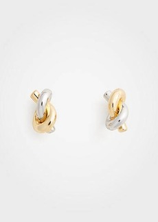 Ann Taylor Twisted Knot Stud Earrings