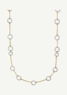 Ann Taylor Twisted Metal Necklace