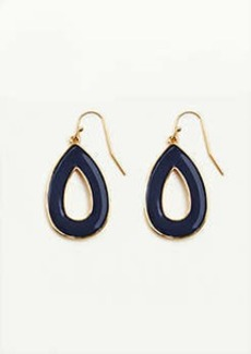 Ann Taylor Two Tone Drop Earrings