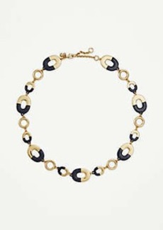 Ann Taylor Two Tone Necklace