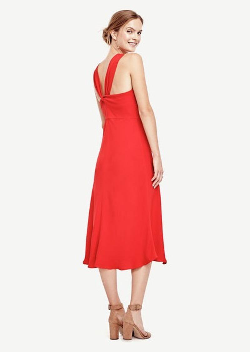 Ann Taylor V-Back Dress