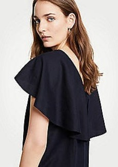 Ann Taylor V-Back Flutter Top