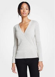 Ann Taylor V-Neck Crossover Sweater