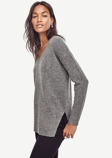 Ann Taylor V-Neck Tunic Sweater