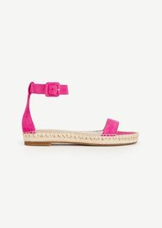 Veka Suede Espadrille Sandals