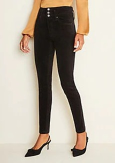 Ann Taylor High Rise 5-Pocket Velvet Pants