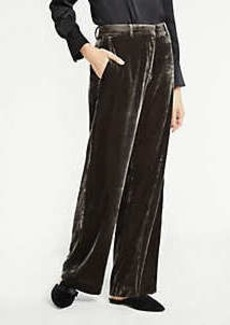 Ann Taylor Velvet Smoking Pants