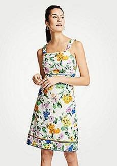 Ann Taylor Vintage Floral Sheath Dress