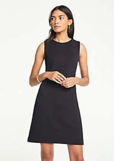 Ann Taylor Waffle Textured Shift Dress