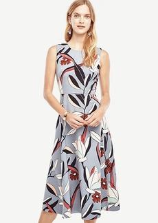 Ann Taylor Water Lily Midi Dress