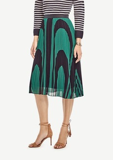 Ann Taylor Wave Pleated Skirt