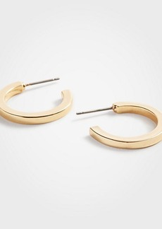 Ann Taylor Wide Hoop Earrings