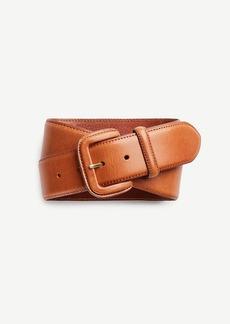 Ann Taylor Wide Leather Belt