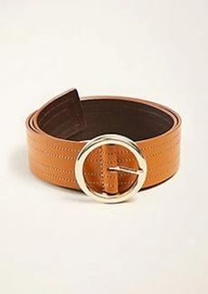 Ann Taylor Wide Leather Waist Belt