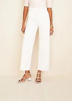 Ann Taylor Wide Leg Crop Jeans