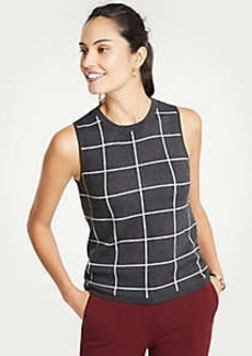 Ann Taylor Windowpane Ann Shell