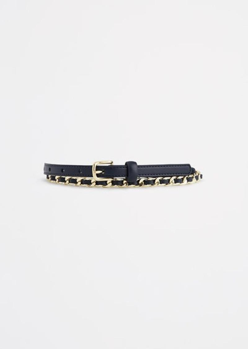 Ann Taylor Woven Chain Belt