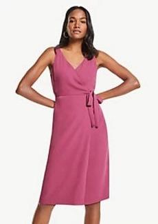 Ann Taylor Wrap Sheath Dress