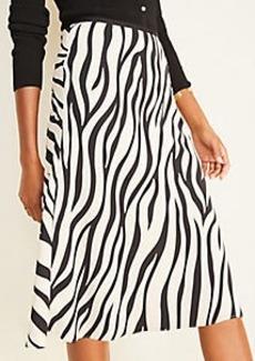 Ann Taylor Zebra Print Skirt