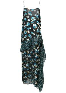 Anna Sui all-over print maxi dress - Black