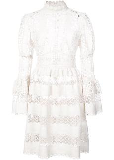 Anna Sui Dew Drop and trellis lace dress