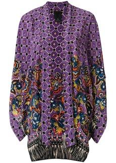 Anna Sui fringed kimono - Pink & Purple