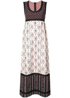 Anna Sui Grace's floral jacquard dress