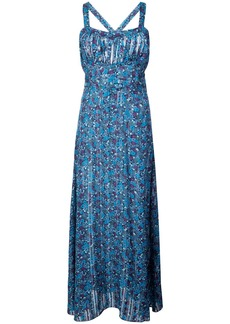 Anna Sui Incense and Joy camisole dress - Blue
