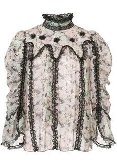 Anna Sui Night Bloom top