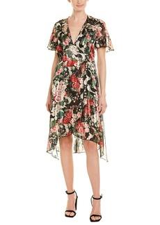 Anna Sui Rose Garland A-Line Dress