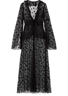 Anna Sui Shooting Star point d'esprit tulle jacket