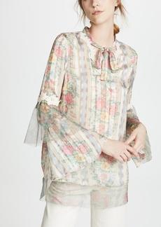 Anna Sui Whisper Rose Tunic