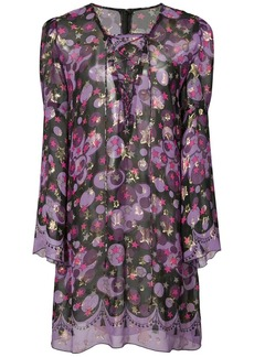Anna Sui Curtain of Stars metallic dress
