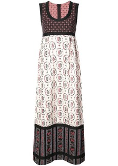 Anna Sui Grace's floral jacquard dress