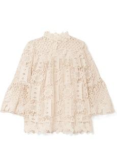 Anna Sui Guipure lace top